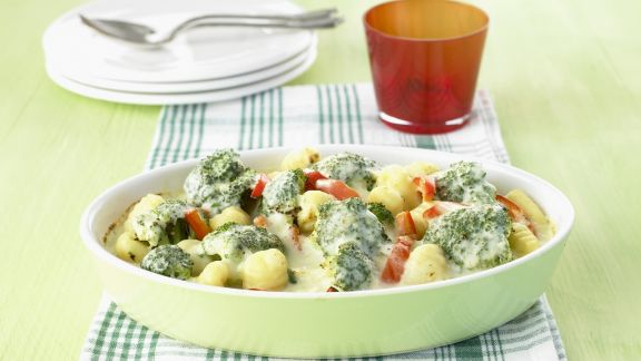 Rezept: Gnocchi-Brokkoli-Gratin