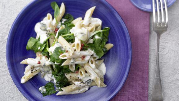 Rezept: Gorgonzola-Spinat-Pasta