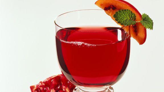 Rezept: Granatapfelsaft