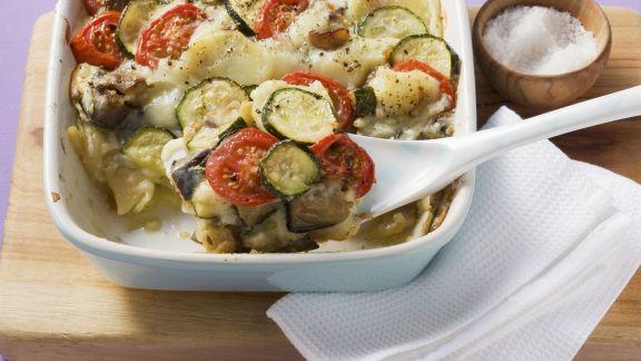 Rezept: Griechischer Gemüseauflauf