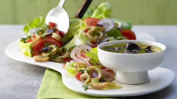 Rezept: Griechischer Tintenfischsalat
