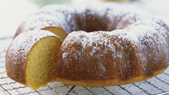 Rezept: Grießkuchen mit Orange