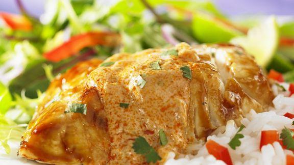 Rezept: Grouper mit rotem Curry auf thailändische Art