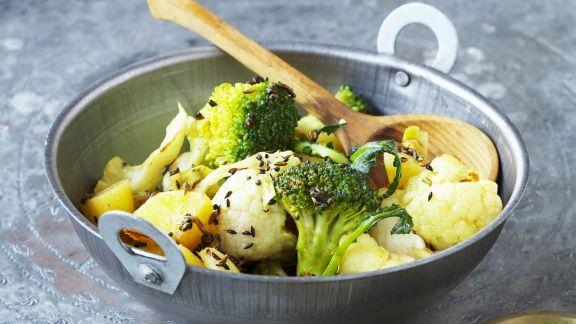 Rezept: Grün-weißes Curry