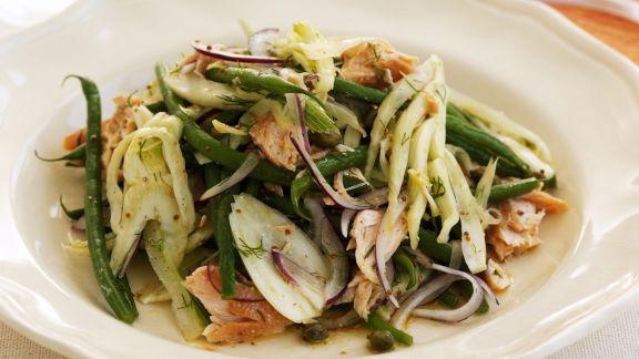 Rezept: Grüne-Bohnen-Fenchelsalat