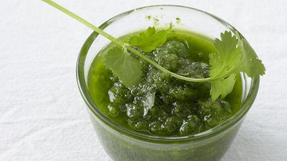 Rezept: Grüne Mojo-Soße
