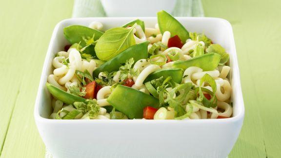 Rezept: Grüner Nudelsalat