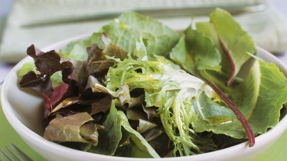 Rezept: Grüner Salat