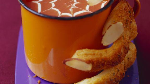Rezept: Gruselige Kürbissuppe zu Halloween
