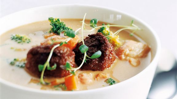 Rezept: Gudbrandsdalen Suppe