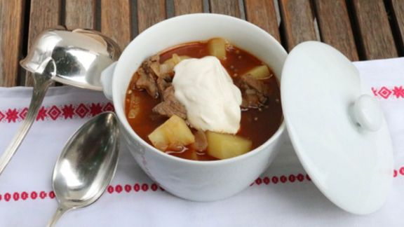 Rezept: Gulaschsüppchen