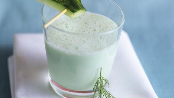 Rezept: Gurken-Drink mit Wasabi
