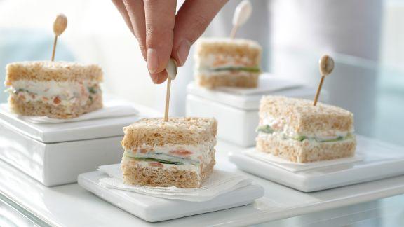 Rezept: Gurken-Sandwiches