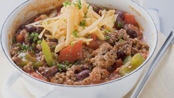 Rezept: Hackfleisch-Eintopf (Chili con Carne)
