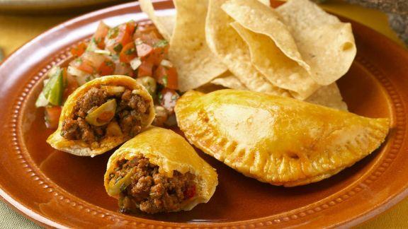 Rezept: Hackfleisch-Taschen nach mexikanischer Art (Empanadas)