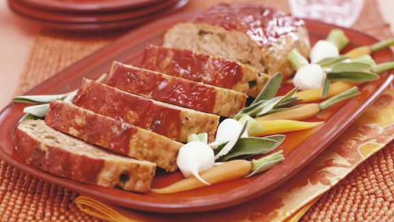 Rezept: Hackfleischbraten mit Gemüse