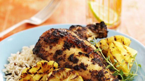 Rezept: Hähnchen auf Jamaikanische Art (Jerk Chicken)