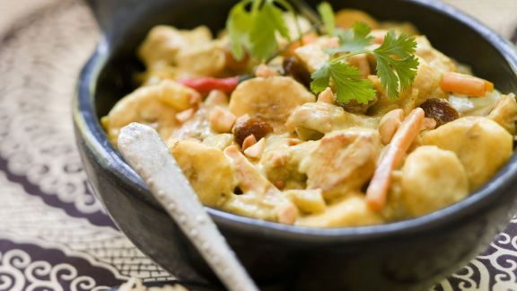 Rezept: Hähnchen-Bananen-Curry