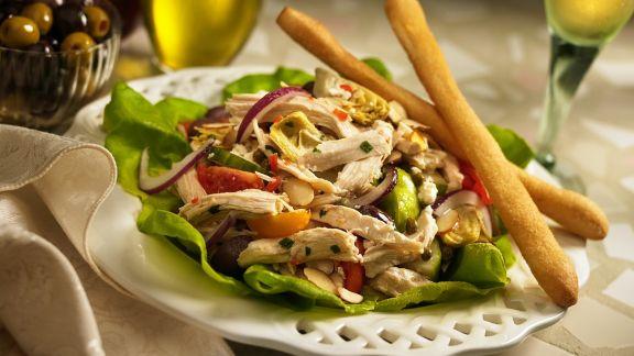 Rezept: Hähnchen-Gemüsesalat