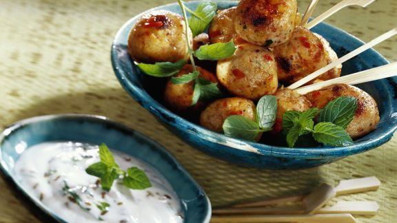 Rezept: Hähnchen-Kartoffel-Köfte