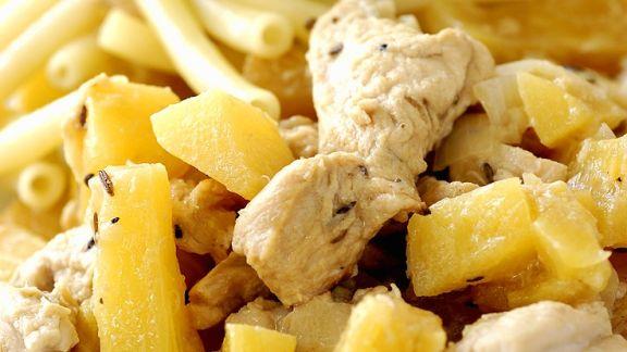 Rezept: Hähnchen mit Ananas