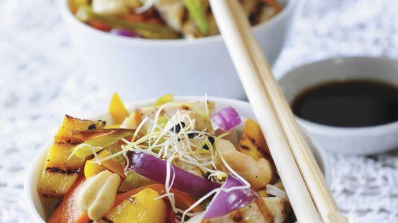 Rezept: Hähnchen mit Gemüse