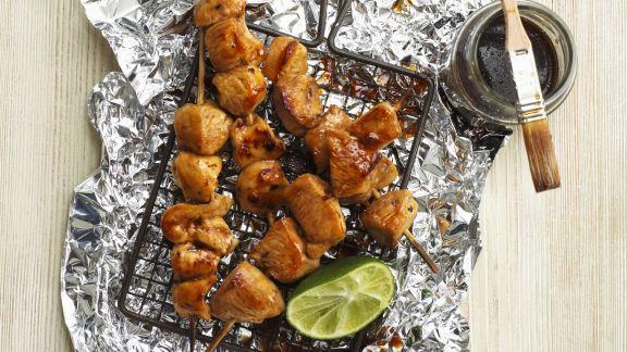 Rezept: Hähnchen mit Honig glasiert