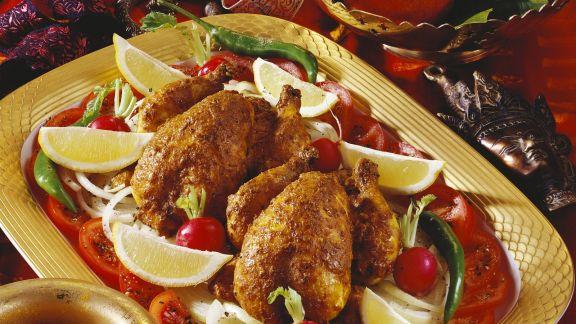Rezept: Hähnchen nach Tandoori-Art