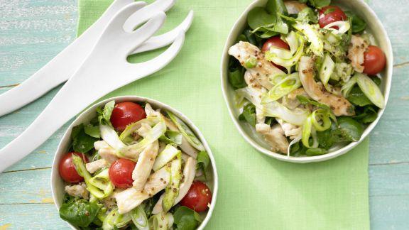Rezept: Hähnchen-Spargel-Salat