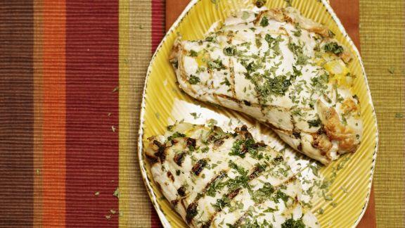 Rezept: Hähnchenbrustfilet gefüllt mit Brokkoli und Käse