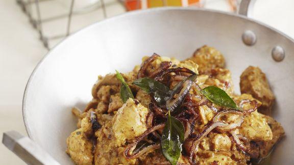 Rezept: Hähnchenfleisch auf Kerala-Art