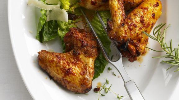 Rezept: Hähnchenflügel auf italienische Art