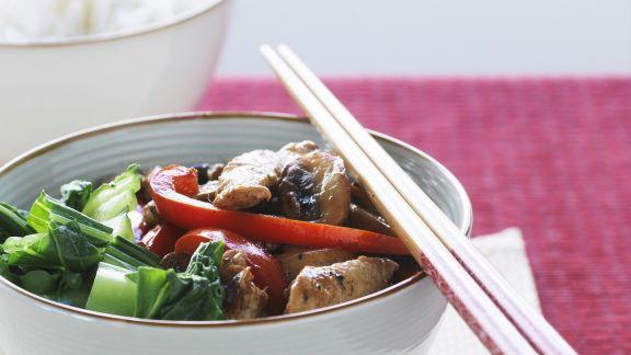 Rezept: Hähnchenpfanne mit Gemüse