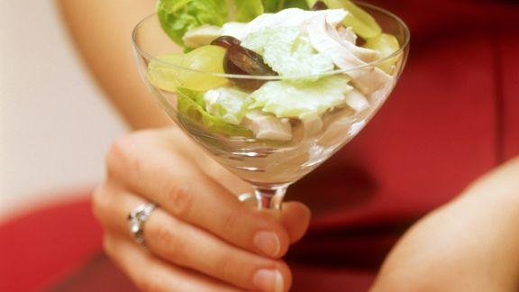 Rezept: Hähnchensalat