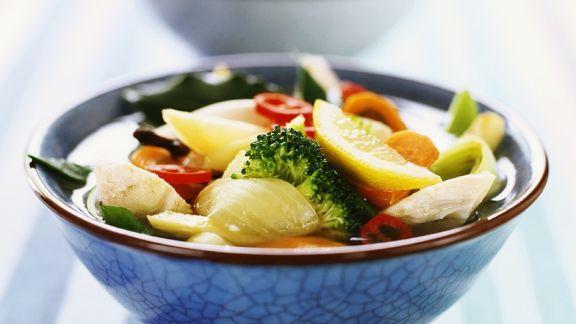 Rezept: Hähnchensuppe