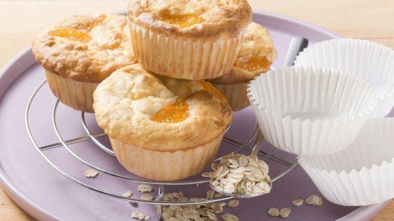 Rezept: Haferflocken-Muffins mit Obst