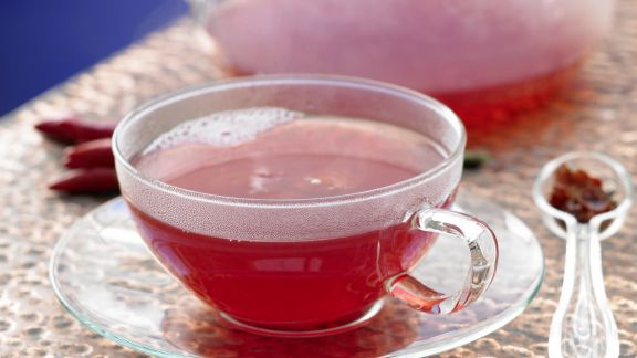 Rezept: Hagebutten-Chili-Tee