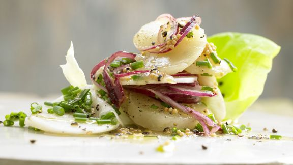 Rezept: Harzer Käsesalat – smarter