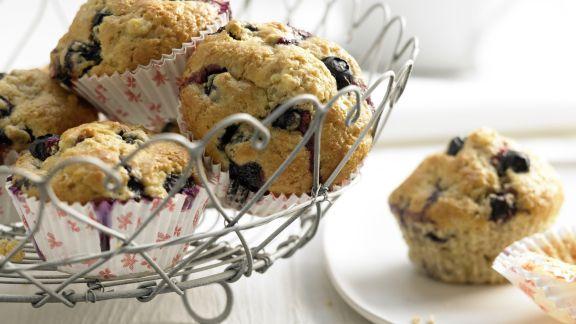 heidelbeer bananen muffins rezept eat smarter. Black Bedroom Furniture Sets. Home Design Ideas