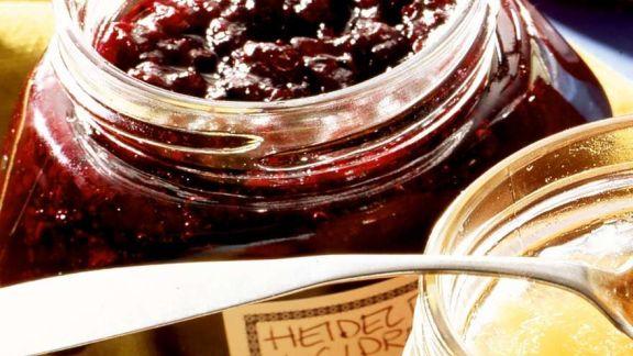 Rezept: Heidelbeer-Cidre-Marmelade