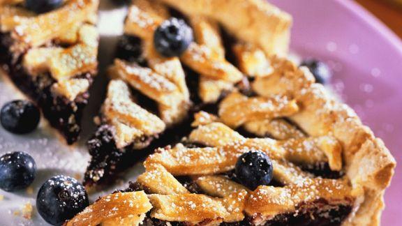 Rezept: Heidelbeer-Pie