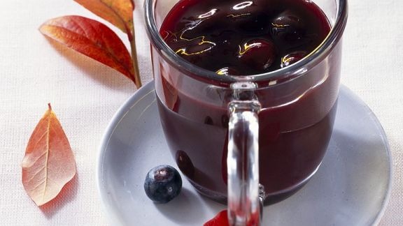 Rezept: Heidelbeerkompott