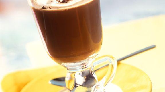 Rezept: Heiße Orangen-Schokolade