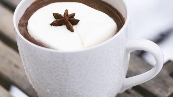 Rezept: Heiße Schokolade mit Sternanis