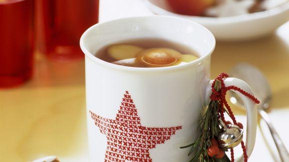 Rezept: Heiße Weihnachtsbowle