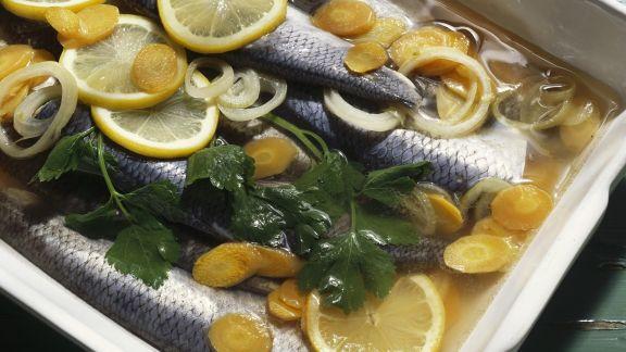 Rezept: Heringe in Marinade