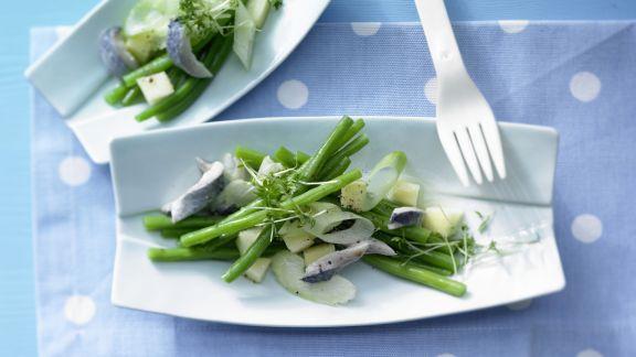 Rezept: Herings-Bohnen-Salat