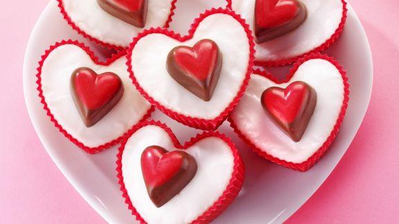 Rezept: Herz-Cupcakes