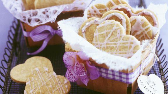 Rezept: Herzförmige Kekse