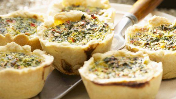 Rezept: Herzhafte Muffins mit Gemüse